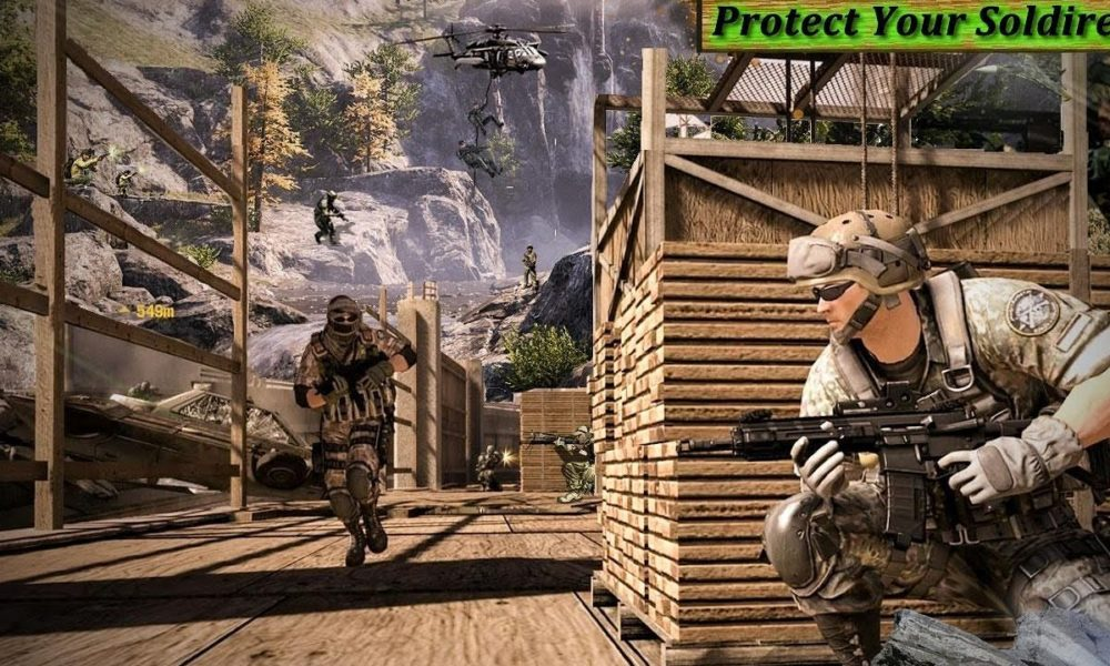 Real Commando Secret Mission free android games apk download