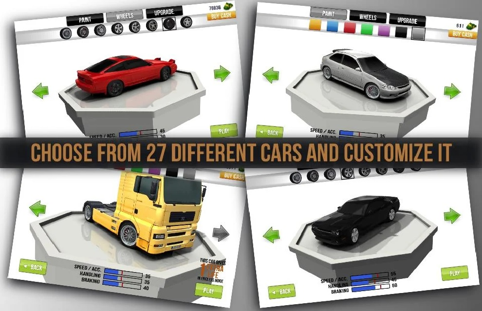 Traffic Racer IOS Best Mod Download