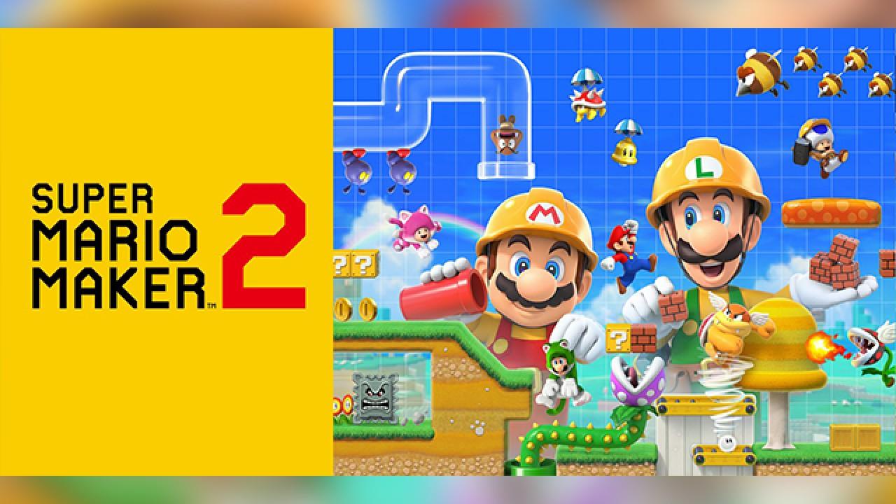 Super Mario Maker 2 Nintendo Switch Version Game Free Full Download 2019