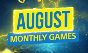 August is finally upon us, which means new PS4