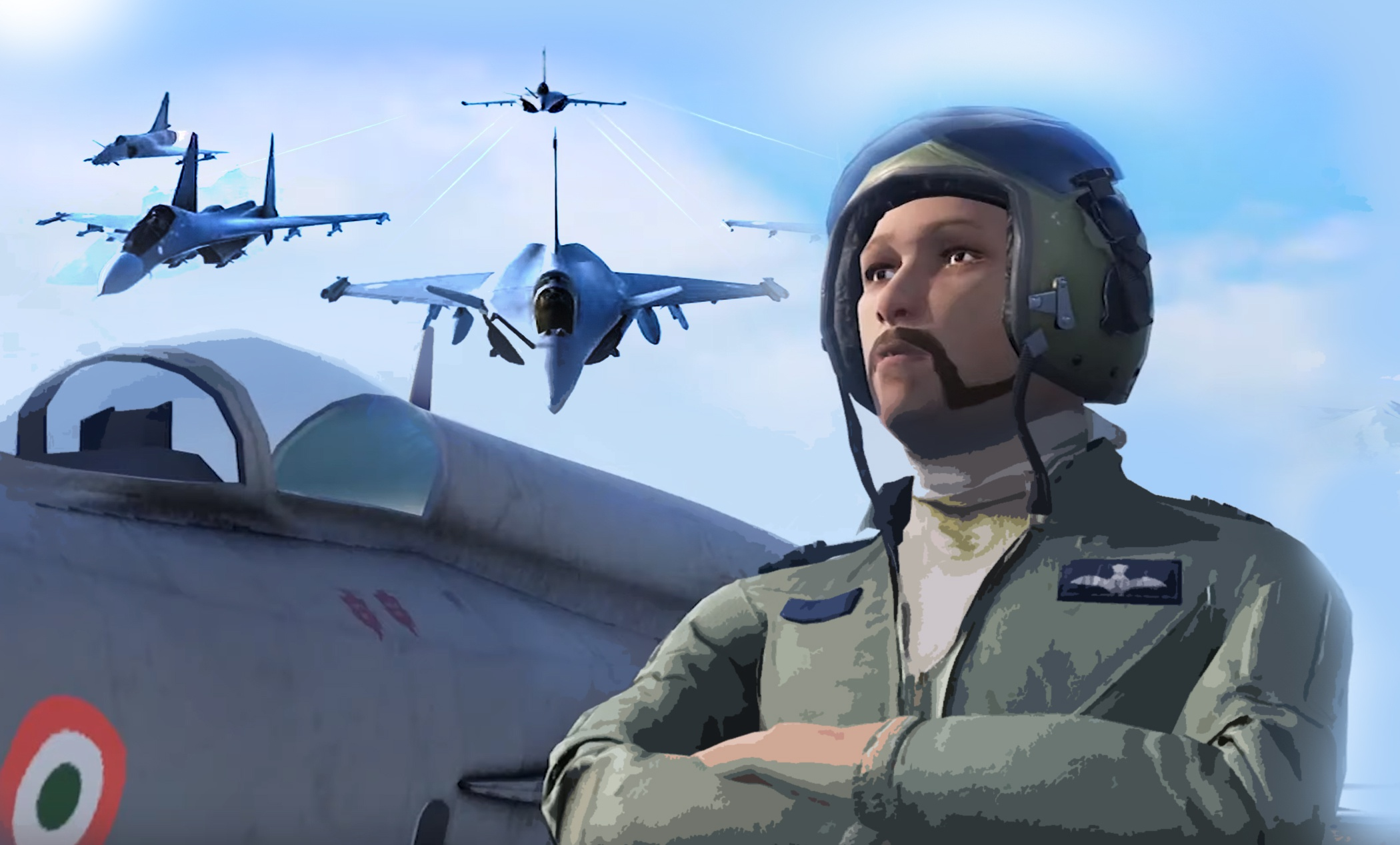 Indian Air Force Game Launched Features Wing Commander