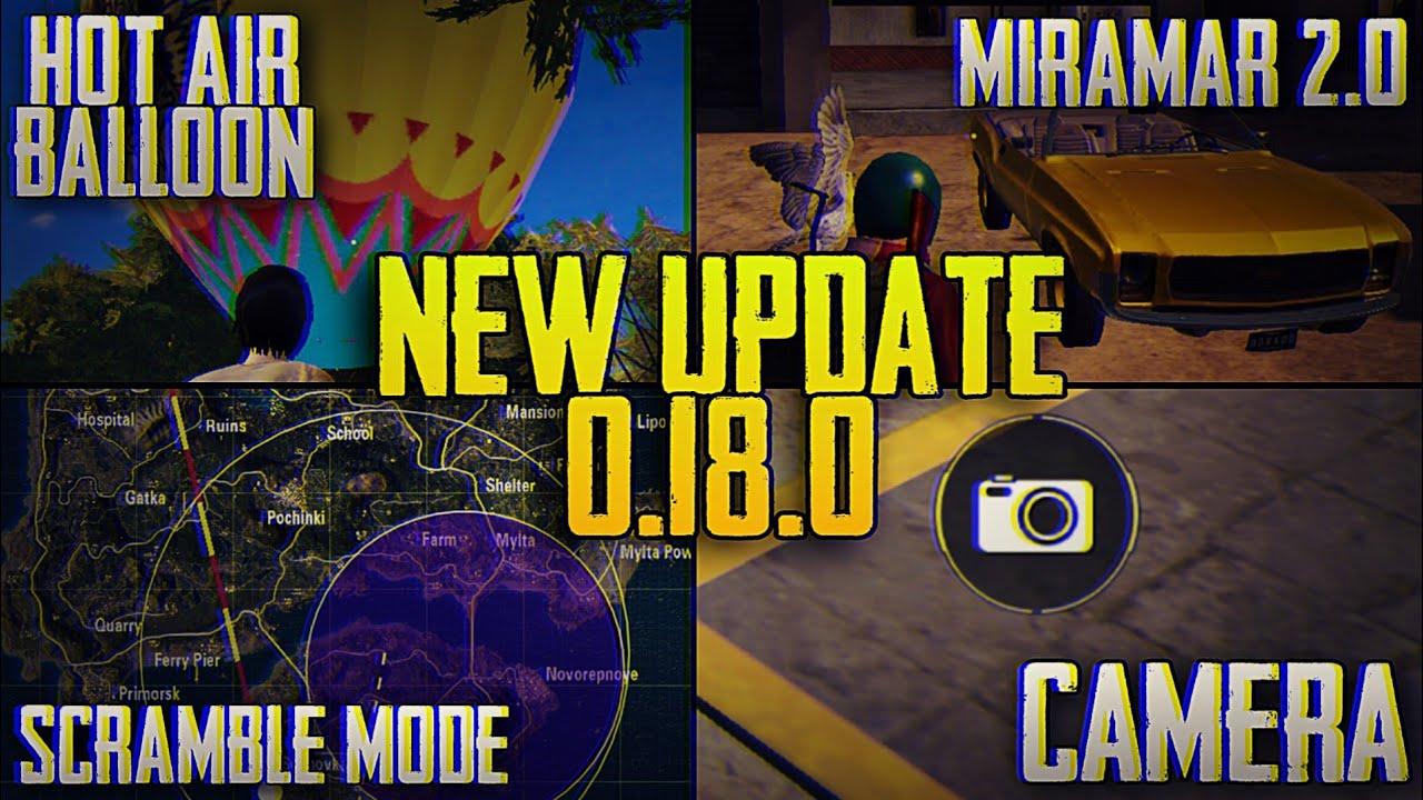 'PUBG Mobile' update 0.18.0 leak reveals new game modes and more