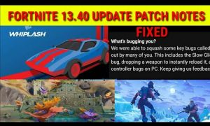 Fortnite update 13.40 Joy Ride patch notes: Cars, Beat Box Radio, new skins, bug fixes